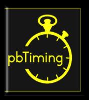 pbTiming. Race Timing Solutions
